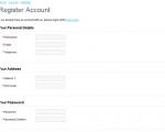 [OpenCart]簡化會員註冊表單(適用 1.4.x 及 1.5.1.x)