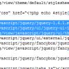 [OpenCart]更新引用的 jQuery 版本