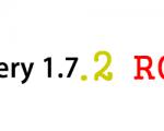 jQuery 1.7.2 RC 1